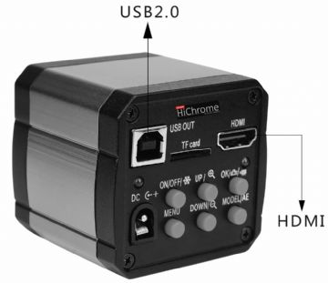 GXCAM-HiChrome-14 14MP HDMI, USB & SD Card Output Camera